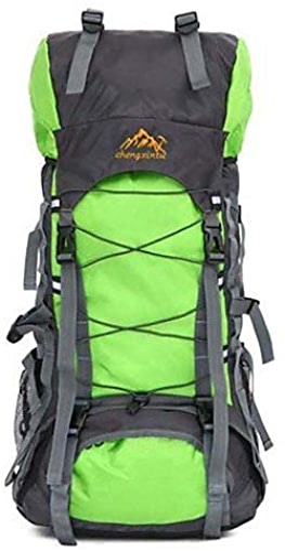 HWB  50L L sac à dos Camping & Randonnée   Voyage Outdoor Etanche   Zip étanche Vert   Rouge   Noir   Bleu   Bleu Foncé   Orange   OliveNylon