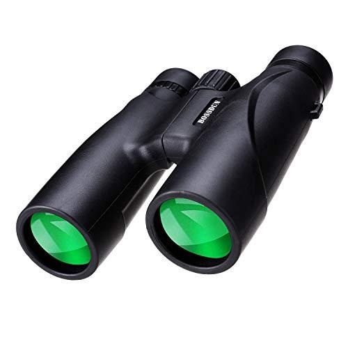 12x32 Prismáticos Binoculares Plegable,Mini Prismáticos Portátiles Compactos Ligeros para Adultos y Niños con Vidrio Óptico y Película FMC Verde