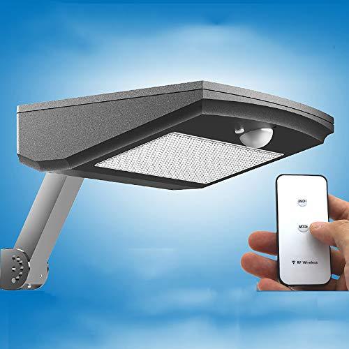 Buitenwandlamp Op Zonne-energie, Intelligent LED-lichtregelsysteem, Verstelbaar Armontwerp Met Afstandsbediening, 4500mah Batterij Met Grote Capaciteit 4 Verlichtingsmodi,S