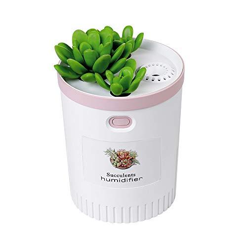 Sencillo Vida Difusor de Aroma con Luz LED, Humidificador Ultrasonico Aromaterapia de Vapor, Difusor de Aceites Esenciales para Hogar, Oficina, SPA, Sala de Estar Dormitorio y Bano