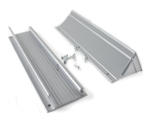 M-D Building Products 28555 M-D Mail Drop Slot, 13 in L X 3 in H, 13' X 3', Silver