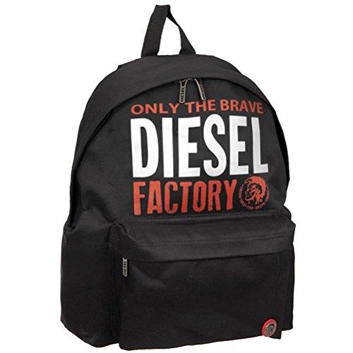 Diesel Rucksack Borne schwarz