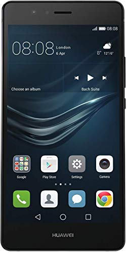 Huawei P9 Lite (L23) 4G LTE GSM Unlocked Android Smartphone w/ 5.2' IPS LCD Display, 13MP Camera, Octa-Core CPU - Black