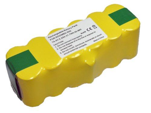 ルンバ  500 600 700シリーズ対応 互換バッテリー 【容量:2200mAh】