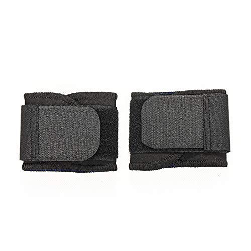 XKMY Pulsera de protección deportiva unisex ajustable y suave, muñequeras para gimnasio, deporte, baloncesto, carpiano, transpirable, correa de seguridad (color negro)