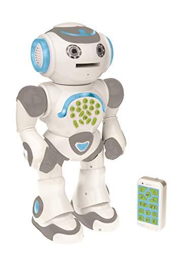Lexibook- Powerman MAX Robot de Juguete Parlante, Multicolor (ROB80ES)