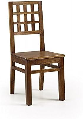 Ikea 002.110.88 Stefan - Silla (madera, 42 x 49 x 90 cm ...