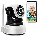 WLAN IP Kamera Babyphone Überwachungskamera Innen HD 1080P WIFI PTZ Innenkamera 2-Wege-Audio...