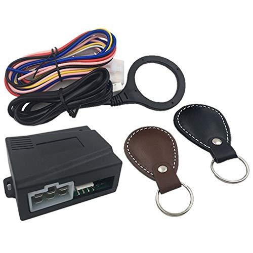 Liseng Motor de Coche Inteligente Empujar Botón de Parada de Inicio Bloqueo RFID Encendido Sistema de Entrada Sin Llave Coche Empezar Parar Inmovilizador Starline