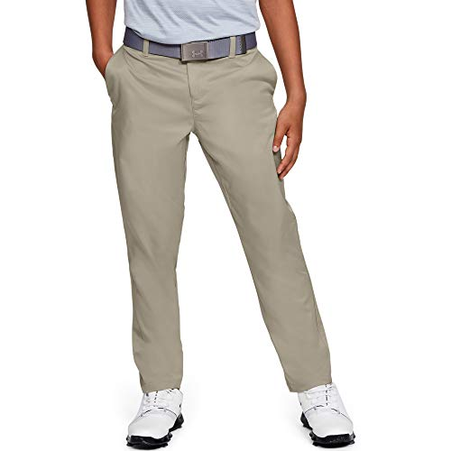 Under Armour Boys' Match Play 2.0 Golf Pants, Barley (233)/Barley, 12
