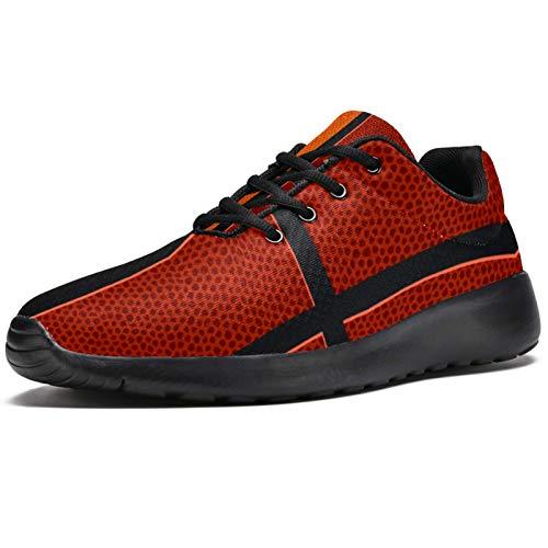 Zapatillas de baloncesto texturizadas para hombre, ligeras, transpirables, de malla, para caminar, casual, color, talla 43.5 EU