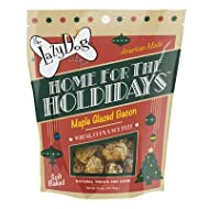 The Lazy Dog Cookie Co.., Home for The Holidays Christmas Dog Treat, Maple Glazed Ham Flavor, Wheat Free, 5 oz Pouch