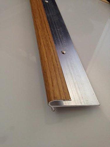Dural STFAF- 801/0.9m; Perfil de rosca de 8 mm; aluminio para suelos de 7 a 8 mm de grosor