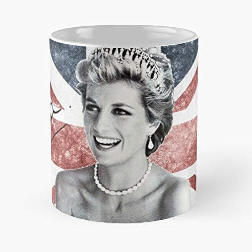 Generic United Kingdom Rose English Diana Royalty Family Lady Princess Royal D Best 11 oz Kaffeebecher - Nespresso Tassen Kaffee Motive