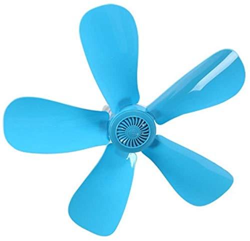 PLEASUR Studentenwohnheim Mini-Ventilator/Kinderzimmer Mini-Deckenventilator/Energiesparventilator/Leiser Ventilator