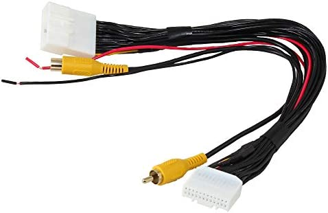 RED WOLF Radio T Harness Retain Factory Reverse Backup Camera or Add Rear View Camera to OEM product image