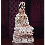 Decoración de la estatua de Buda Estatuas Figuras Esculturas Feng Shui Decoración Escultura Decoración del hogar Decoración Adornos de escritorio Decoración del hogar de la estatua de Buda
