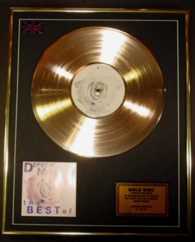 Depeche Mode/CD Gold Disc Record Limited Edition/The Best of Volume 1