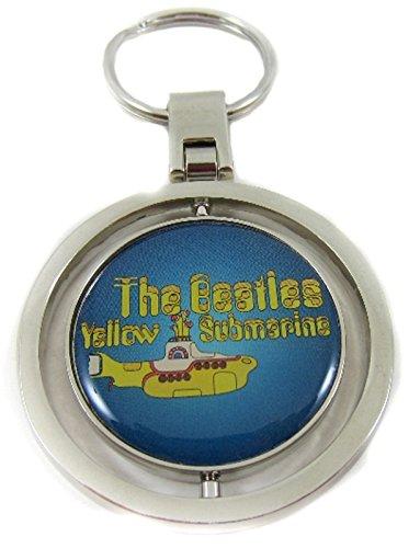 The Beatles Oficial con Licencia Yellow Submarine Logo Metal Spinning