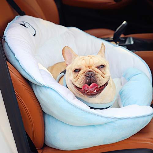 PET Emmer Booster Auto Seat,PET Bed Met Verstelbare Veiligheidsriem Reizen Veiligheid Zitzak Voor Puppies En Kleine Honden, 60x50cm(24x20inch), C