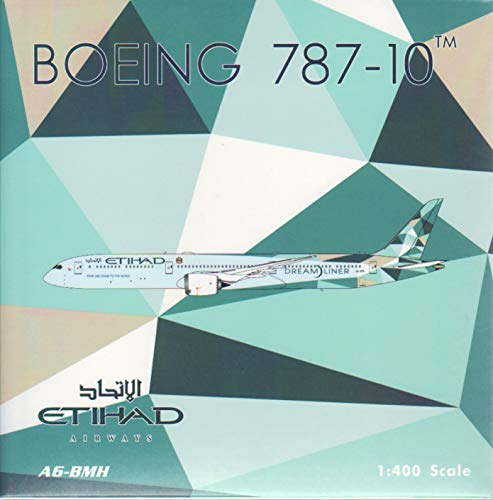 Phoenix Model PHX04318 1:400 Eithad Airways Boeing 787-10 Reg #A6-BMH 'Greenliner' (pre-Painted/pre-Built)