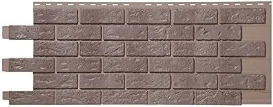 Hand Laid Brick Panels - Carton of 9 (Grey Black Blend)