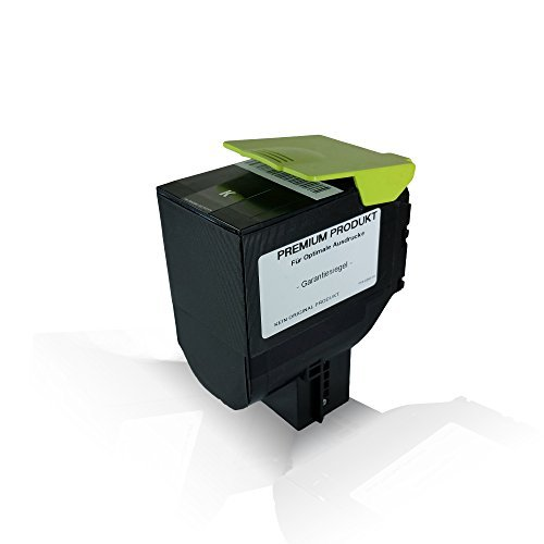 kompatible Tonerkartusche Black mit 4.000 Seiten für Lexmark CS310dn CS310n CS410dn CS410dtn CS410n CS510de CS510dte 70C2HK0 Black Schwarz