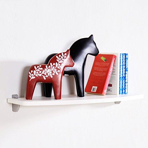 Houten wandmontage van hout, set-top box, planken, wandhangen, creatieve boekenplank