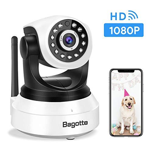 Bagotte Caméra IP WiFi,Caméra Surveillance WiFi, Caméra de Sécurité sans Fil avec Vision...