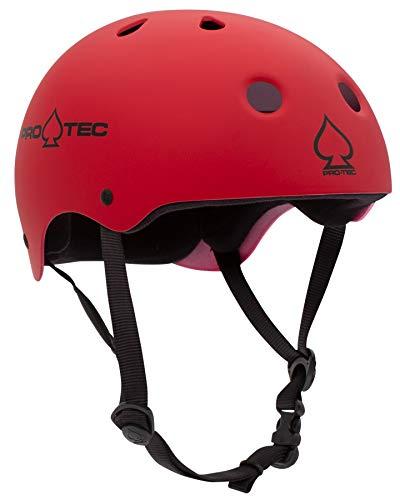 PRO-TEC(プロテック) CLASSIC SKATE (クラシックスケート) ヘルメット BMX&SKATE (XLサイズ,マットレッド)