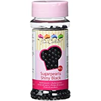 "Perlas de azúcar Funcakes ""Negro brillo"" (80 gr)"