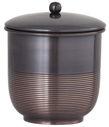 Buffalo Brand Trading Company, Laiton Lourd, Finition Bronze huilé, Finition : Bronze huilé Cotton Jar Oil Rubbed Bronze