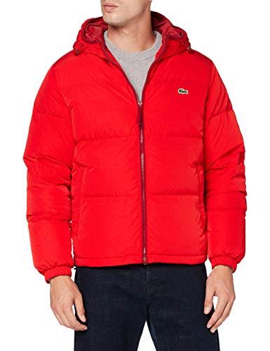 Lacoste BH1966 Abrigo de vestir, rojo, XL para Hombre