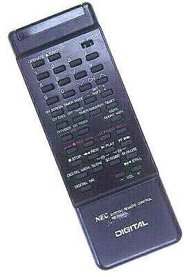 Fernbedienung Remote Orig. NEC RB-D1G für Video/TV A/V ~~ gebraucht/gut