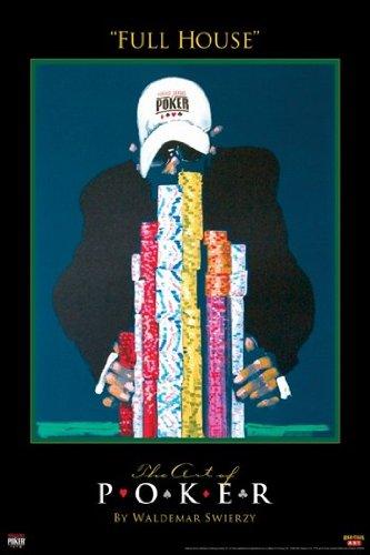 World Series of Poker Stampa Artistica (27,94 x 43,18 cm)