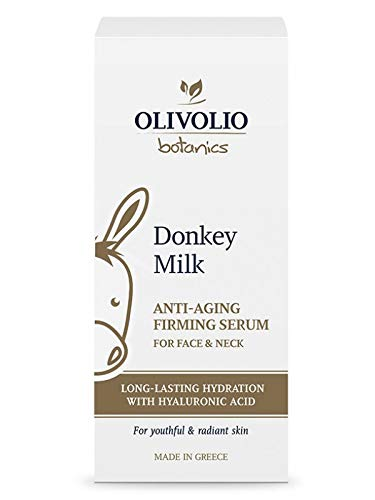 Olivolio botanics Anti-Aging Firming Serum/straffende Gesichtsserum mit Eselsmilch und Hyaluronsäure!