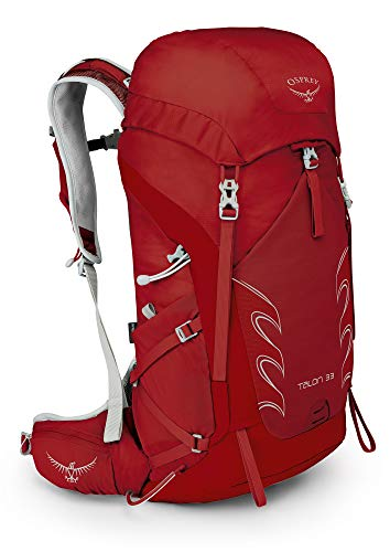 Osprey Talon 33 Men's Hiking Backpack, martian red, medium/large