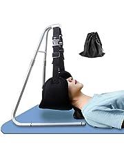 TOOGOO(R) Hamaca de relaxación cervical antifatiga en el cuello, hamaca de cabeza portátil, tracción cervical con soporte