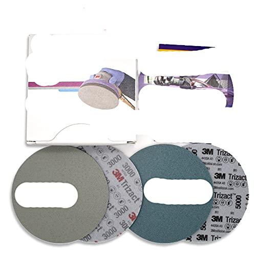 Papel de lija de esponja de disco piramidal de 3M P3000 P5000...