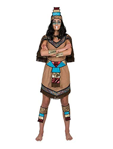 Funny Fashion Costume azteco Maya Donna