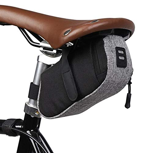 Bolsa de Bicicleta Al Aire Libre Impermeable Portable del Asiento de la Bicicleta Saddle Bag Bolsa de Bicicletas Ciclismo Cremallera Trasera de la Cola Bolsas Equipo de Ciclo Bolsa de Marco