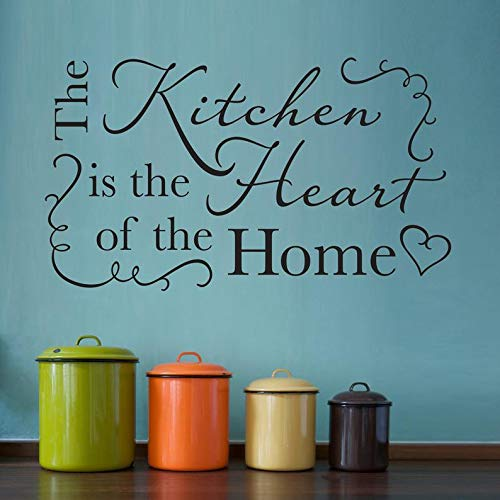 The Kitchen is The Heart of The Home Sticker mural pour cuisine