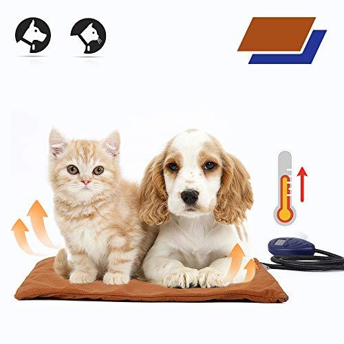 ペット用ホットカーペット 40*30cm ペットヒーター猫 温度調節 ヒーターマット いぬ ペット ホットマット あったか ねこ 寒さ対策 犬 猫 中小型 小動物対応 過熱保護 省エネ PSE認証済み