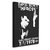 絵画 油絵 30 * 40 Cm David Bowie ポスター おしゃれ インテリア 壁掛け ウォールペーパー ウォール おしゃれ インテリアアート 装飾画 キャンバスアート アート油画 パネル ャンバス