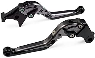 CTG Extendable Fold Folding Clutch Brake Levers for BMW S1000RR 2014 (NOT the Comp Version)-Grey