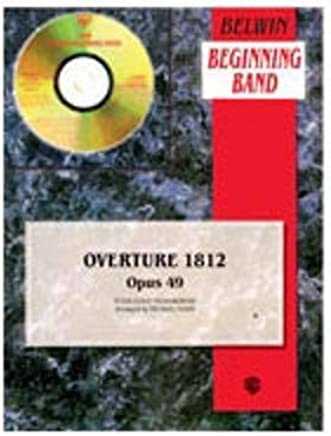 Alfred Tchaikovsky 1812Overture (Score and Parts for easy Concert Band)