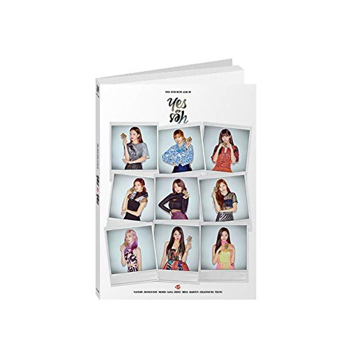 JYP Entertainment Twice - YES o r YES [B ver.] (6th Mini Album) CD+Photocards+YES o r YES Card+Folded Poster+Pre-Order Benefit+Extra Photocards Set