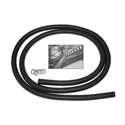 Unbekannt Winora Kettenschutz Chainrunner 1-Fach schwarz, 1,43m, schwarz (1 Stück)