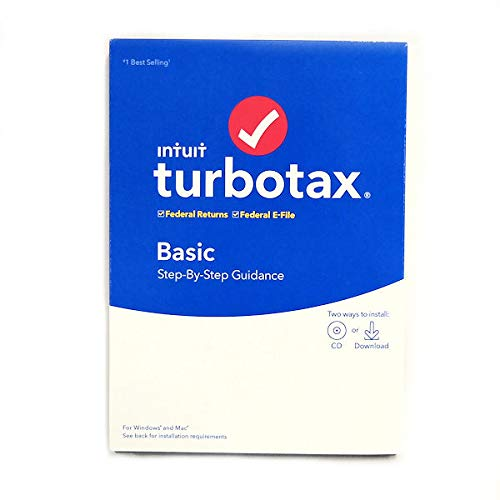 Price comparison product image TurboTax 2019,  Basic Federal Efile,  for PC / Mac
