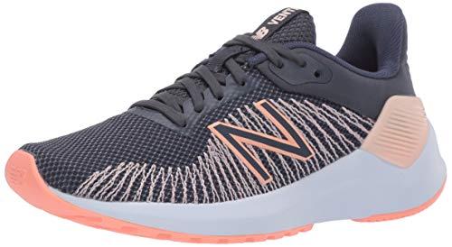 New Balance Women's Ventr V1 Running Shoe, Thunder/Peach Soda, 5 W US